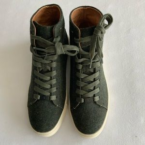 Frye Ivy high top sneakers size 7M
